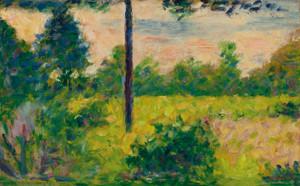Art Prints of A Barizon by Georges Seurat
