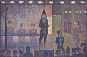 Art Prints of Circus Sideshow by Georges Seurat