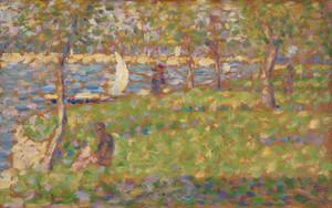 Art Prints of Study for La Grande Jatte, 1884 by Georges Seurat