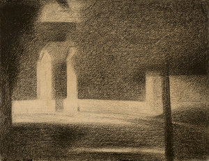 Art Prints of The Gateway by Georges Seurat