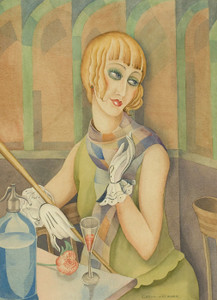 Art Prints of Lili Elbe by Gerda Wegener