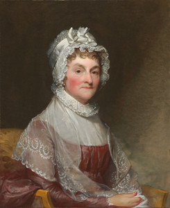 Art Prints of Abigail Smith Adams by Gilbert Stuart