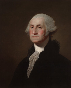 Art Prints of George Washington 1781 by Gilbert Stuart