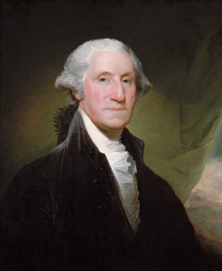 Art Prints of George Washington 1795 by Gilbert Stuart