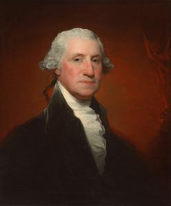 Art Prints of George Washington Vaughan Sinclair Portrait 1795 by Gilbert Stuart
