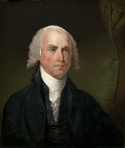 Art Prints of James Madison by Gilbert Stuart