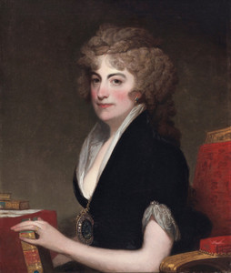 Art Prints of Portrait of Anne Willing Bingham by Gilbert Stuart