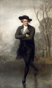 Art Prints of The Skater by Gilbert Stuart