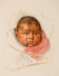Art Prints of The Little One by Grace Carpenter Hudson