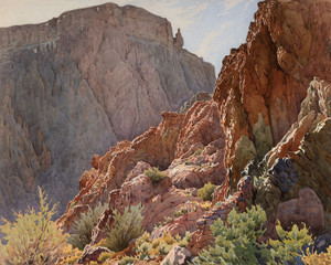 Art Prints of Bright Angel Trail by Gunnar Widforss