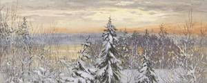 Art Prints of A Snowy Afternoon by Gunnar Widforss