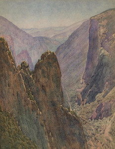 Art Prints of Canyon Point by Gunnar Widforss