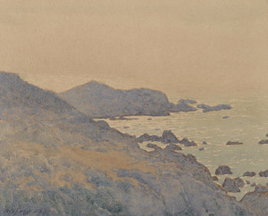 Art Prints of California Coast by Gunnar Widforss