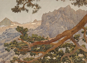 Art Prints of High Sierra by Gunnar Widforss