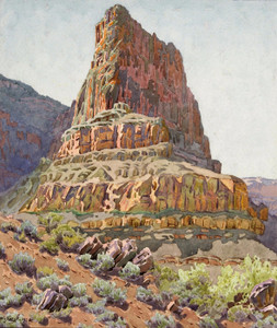 Art Prints of Zoroaster Temple by Gunnar Widforss