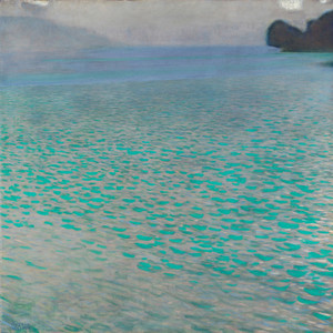 Art Prints of Attersee by Gustav Klimt
