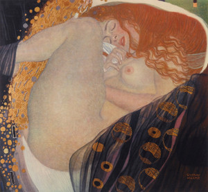 Art Prints of Danae by Gustav Klimt
