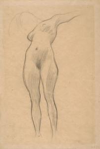 Art Prints of Floating Woman, Study for Medicine by Gustav Klimt