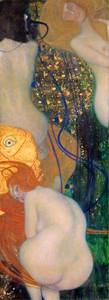 Art Prints of Goldfish by Gustav Klimt