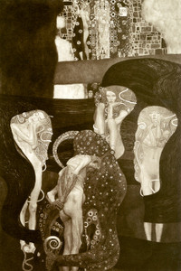 Art Prints of Jurisprudence by Gustav Klimt