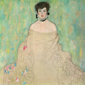 Art Prints of Portrait of Amalie Zuckerkandl by Gustav Klimt