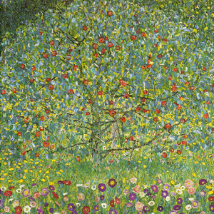 Art Prints of The Apple Tree by Gustav Klimt