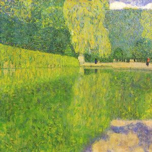 Art Prints of The Park at the Schonnbrunn Palace by Gustav Klimt