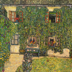 Art Prints of Woodmans House or The House of Guardaboschi 1912 by Gustav Klimt