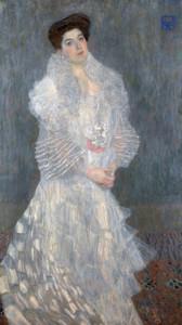 Art Prints of Portrait of Hermine Gallia by Gustav Klimt