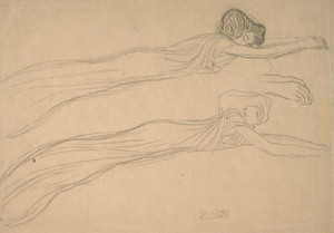 Art Prints of Sketch for the Beethoven Frieze by Gustav Klimt