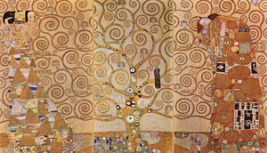 Art Prints of Tree of Life Triptych by Gustav Klimt