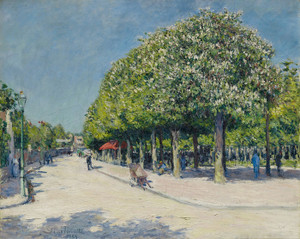 Art Prints of Argenteuil Fairground by Gustave Caillebotte