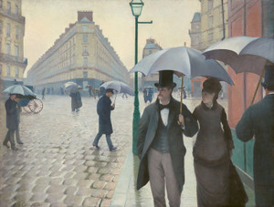 Art Prints of Paris Street, Rainy Day by Gustave Caillebotte
