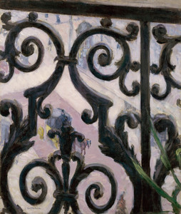 Art Prints of View from a Balcony by Gustave Caillebotte