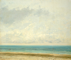 Art Prints of Calm Sea by Gustave Courbet