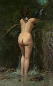 Art Prints of La Font by Gustave Courbet