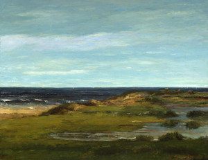 Art Prints of Seascape by Gustave Courbet