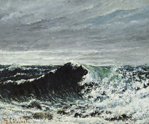 Art Prints of The Wave by Gustave Courbet