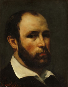 Art Prints of Portrait of a Man by Gustave Courbet