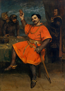 Art Prints of Louis Gueymard as Robert le Diable by Gustave Courbet