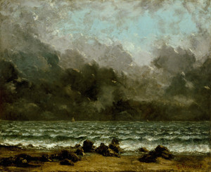 Art Prints of The Sea by Gustave Courbet