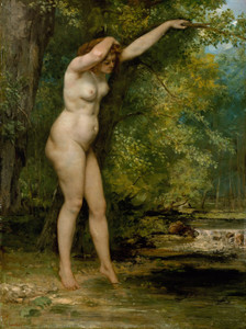 Art Prints of The Young Bather by Gustave Courbet