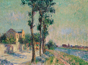 Art Prints of Edge of the Oise by Gustave Loiseau