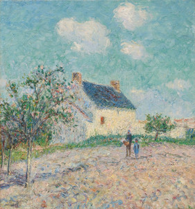 Art Prints of Apple Trees in Bloom by Gustave Loiseau