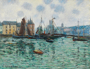 Art Prints of Port of Fecamp by Gustave Loiseau