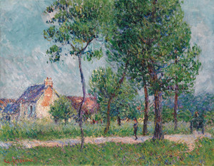 Art Prints of Saint Eyr-du-Vaudreuil by Gustave Loiseau