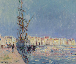 Art Prints of Port Ferriere by Gustave Loiseau
