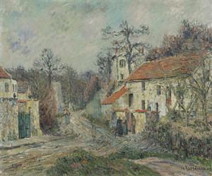 Art Prints of Winter Landscape, Chaponval by Gustave Loiseau