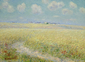 Art Prints of Wheat Fields by Gustave Loiseau