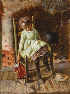 Art Prints of Sleeping Girl by Harry Roseland